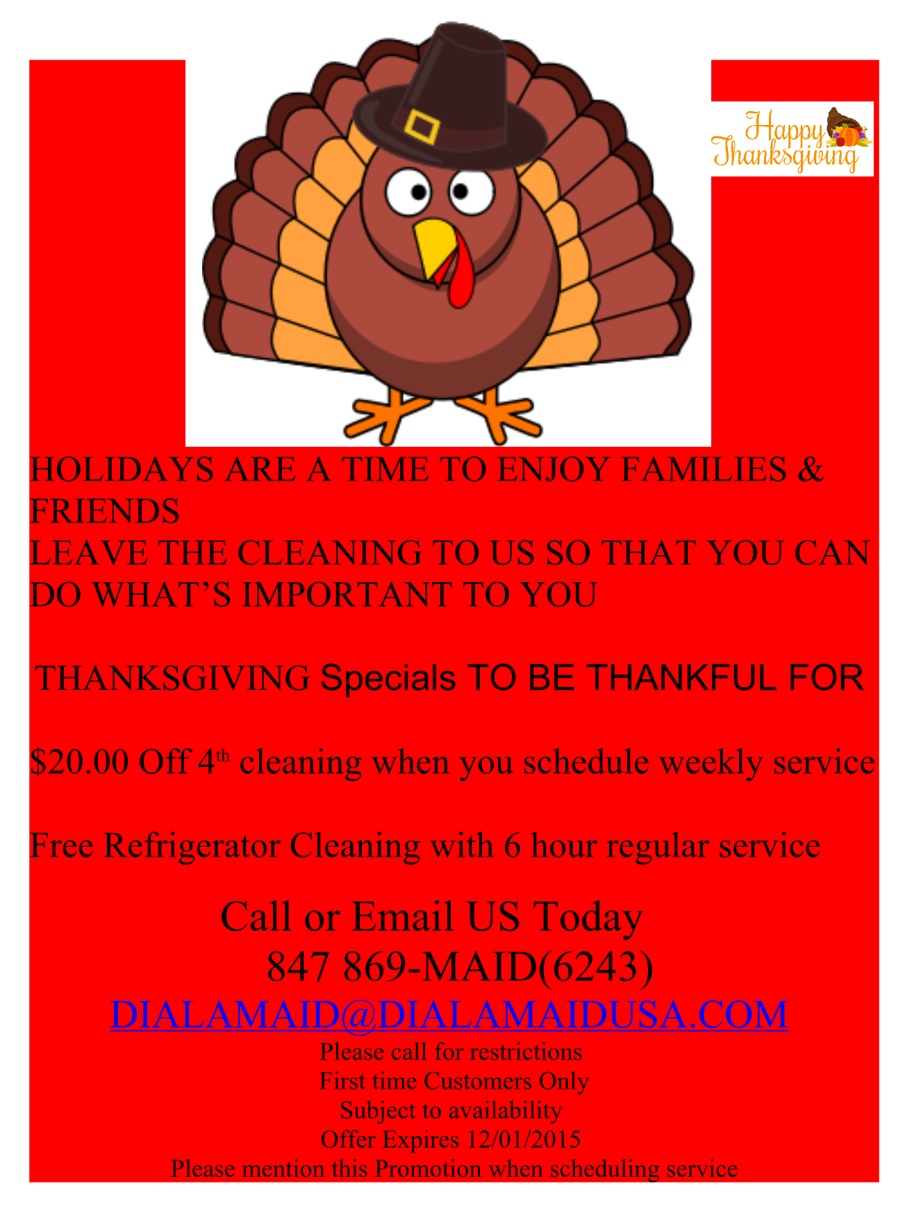 Residential Home Cleaning Special Offers