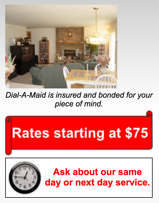 Dial a Maid Cleaning Services in Arlington Heights